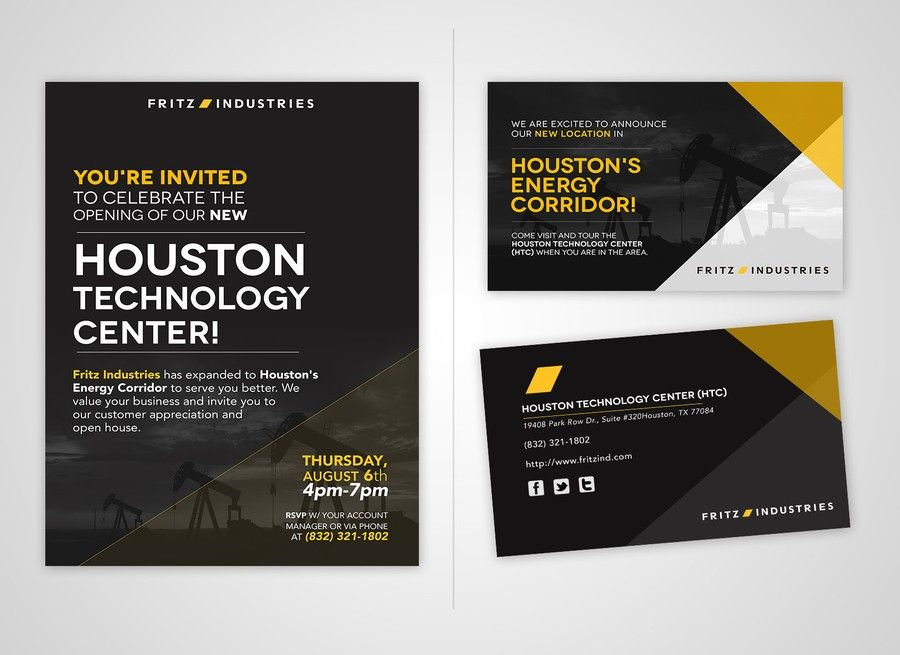 Invitation Elegant and Professional invite for customer event - Business Event Invitation