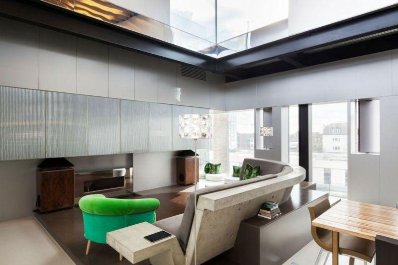 Beton In Interieur : Interieur aus beton und aluminium u2013 urbaner einrichtungsstil