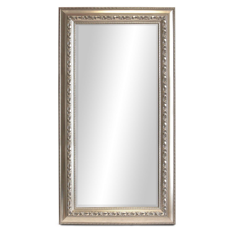 Gro er wandspiegel barspiegel spiegel mit facettenschliff 170x70cm silbergold in m bel wohnen - Dekoration spiegel ...