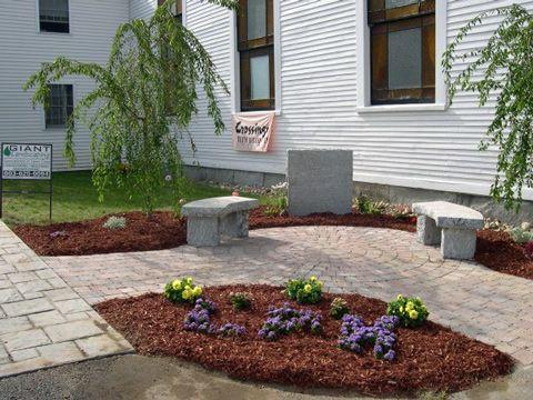 church landscaping - google
