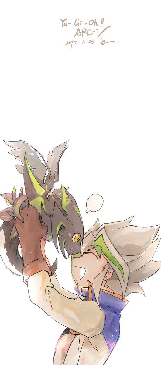 Yu Gi Oh Arc V Zarc And Supreme King Dragon Zarc And Yuu Boys
