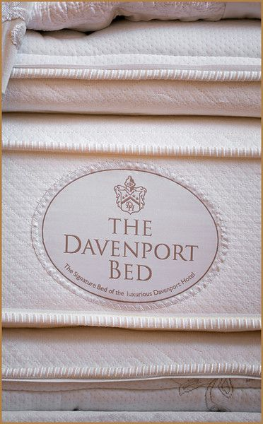 Here Is The Celebrated Davenport Mattress On Which We Rest Our
