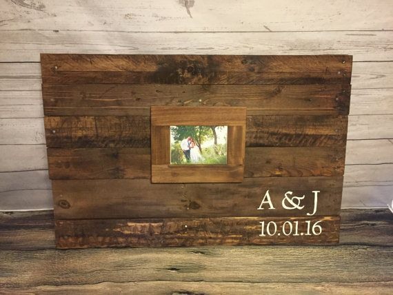 Large Wedding guest book Alternative, Sign in book for guests, Photo