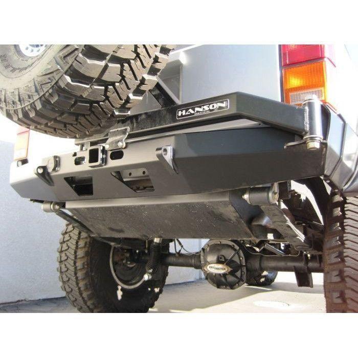 Hanson Xj Rear Bumper Tire Carrier Combo Jeep Xj Jeep Cherokee Jeep Cherokee Xj