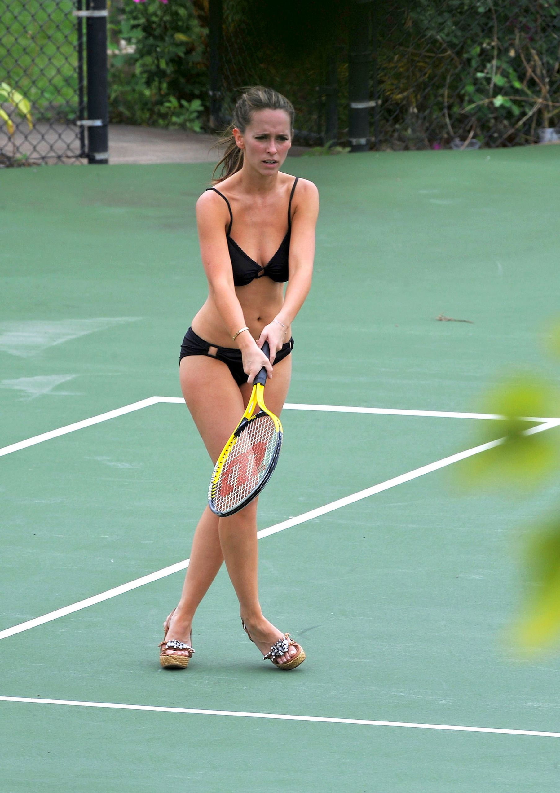 player tennis Naked french
