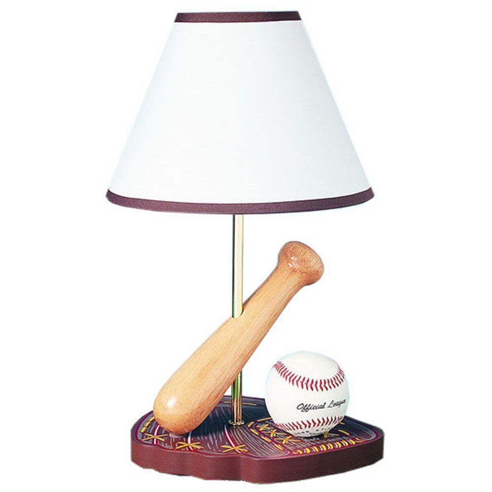 Baseball Desk Lamp Sports Table Lamp Lighting Multi Color Cal Lighting Bo 374 Cal Kids Lamps Table Lamp Cal Lighting