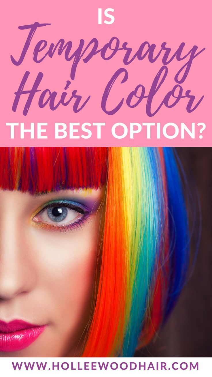 What Is A Good Temporary Hair Dye