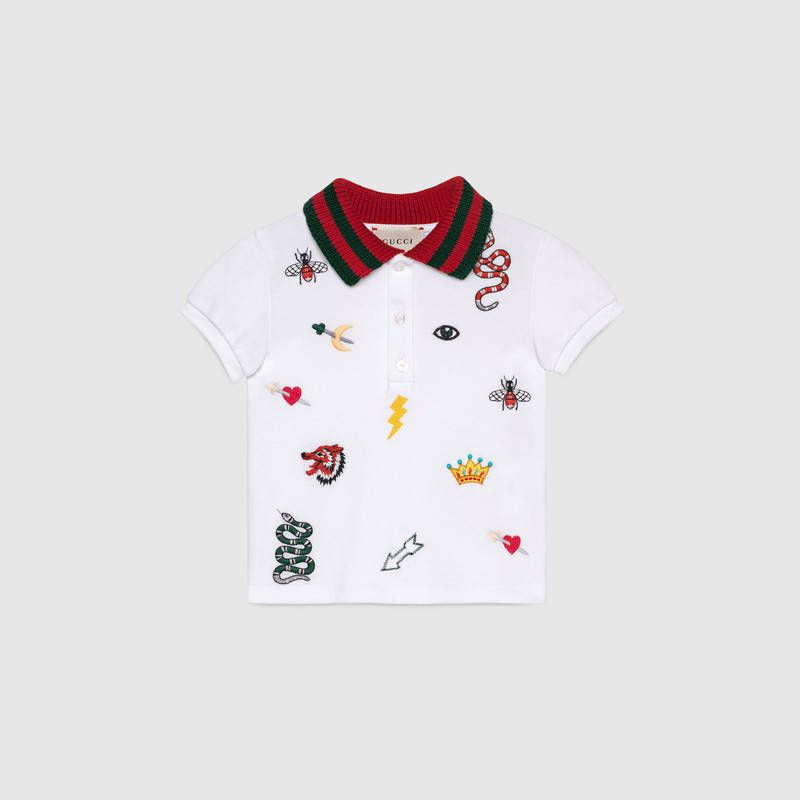 5921bd9c7 Baby polo with symbols embroidery | LC Boys Clothing and Gifts ...