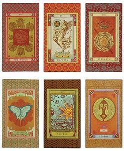 Vintage Tarot Cards Wall Art - Set of 6 | Shop home