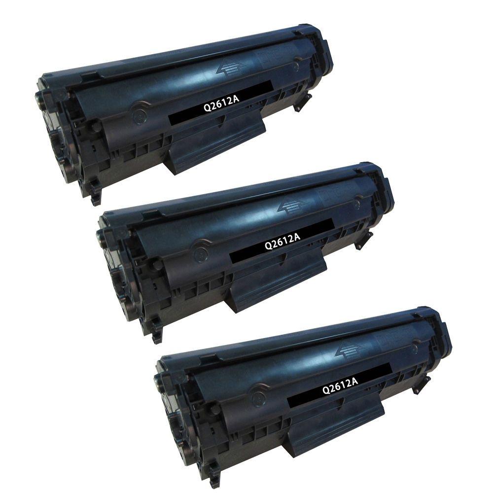 Reman Toner Cartridge For Hp 12a 3 Black Laserjet 1020 1022 1022n Compatible 1022nw