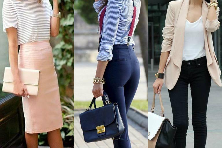 Kolorowe Stylizacje Biznesowe Fashion Hermes Kelly Chloe Drew