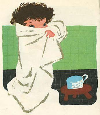 Mary Blair: baby's house