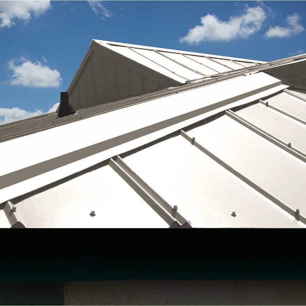 Gibraltar Building Products 12 Ft 5v Crimp Galvanized Steel 29 Gauge Roof Panel 13343 The Home Depot Roof Panels Galvanized Roofing Galvanized Steel