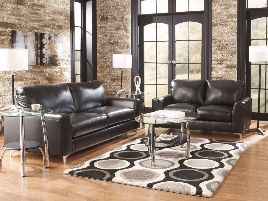 Kanoa Durablend Midnight Sofa Loveseat Sofa Loveseat Livingroom Rana Ranafurniture Furniture Miami Stylish Living Room Furniture Living Room Leather #rana #furniture #living #room