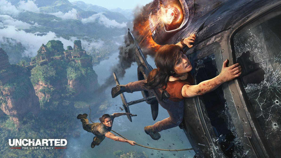 Uncharted The Lost Legacy Wallpaper HD 4 by SONICX2011