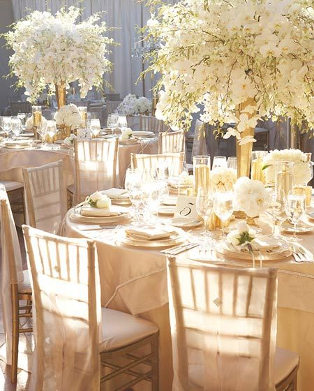 Celebrity Wedding Flowers Centerpieces: Best Celebrity Wedding Decorations