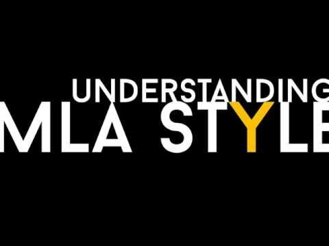 understanding mla style 8th edition 2016 updates youtube