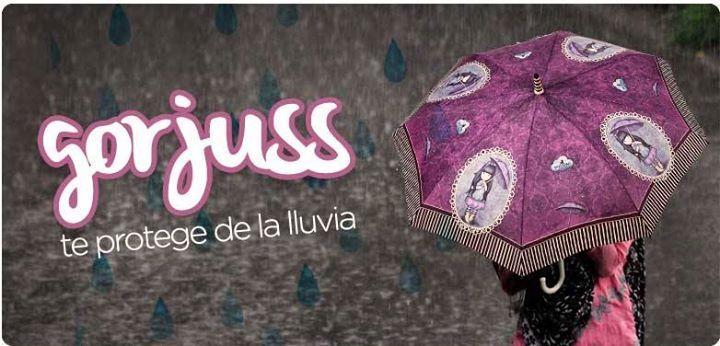 b45c6bc9a07 Gorjuss te protege de la lluvia con los nuevos  paraguas No te mojes ...