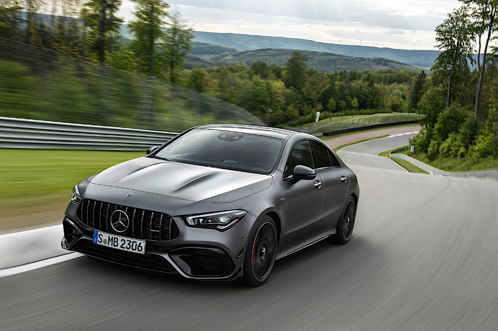 2020 Mercedes Amg A 45 And Cla 45 Revealed As New High Performance Compacts Autoevolution Mercedes Amg Amg 4 Door Sports Cars