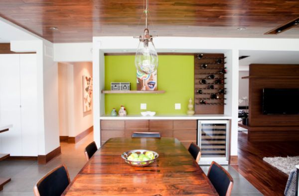 Beautiful Wine Storage For Modern Dining Rooms