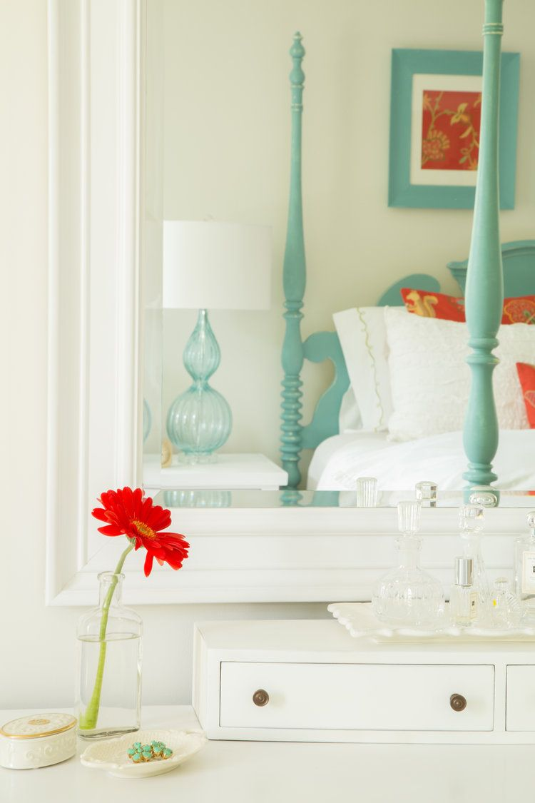 Gracious Guest Bedroom Decorating Ideas: Guest Bedroom Design, House Of Turquoise, Beach House Wall Decor