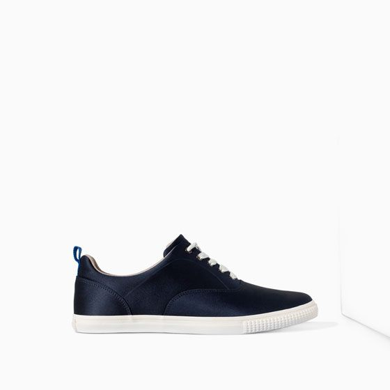 ac99e042f3 Image 1 of NYLON PLIMSOLL from Zara | Men's Shoes | Shoes, Adidas ...