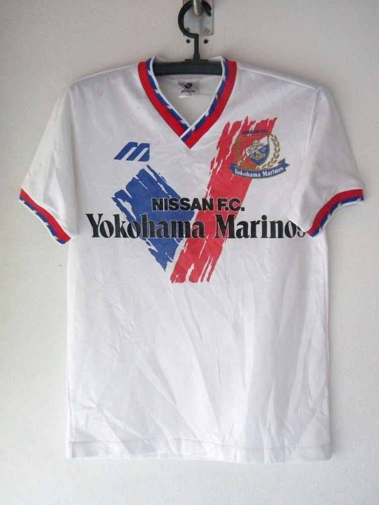 Yokohama Marinos Size M O 1993 rare football shirt jersey trikot soccer  Used  Mizuno  YokohamaFMarinos cfd1a86066f11