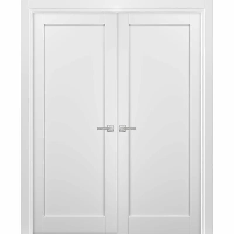 Paneled Manufactured Wood Quadro French Doors Panel Doors European Doors Paneling