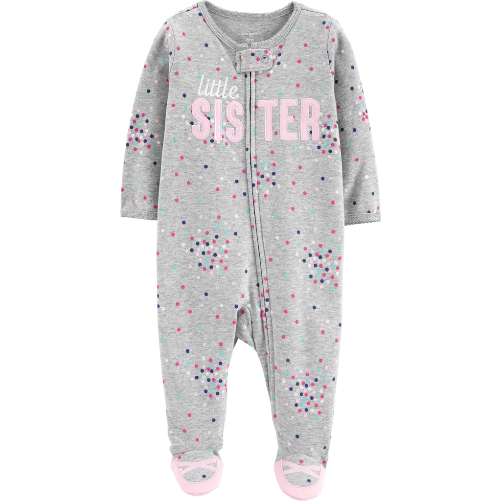 Penguin 18-24M Essentials Toddler and Baby  Zip-Front Footed Sleeper