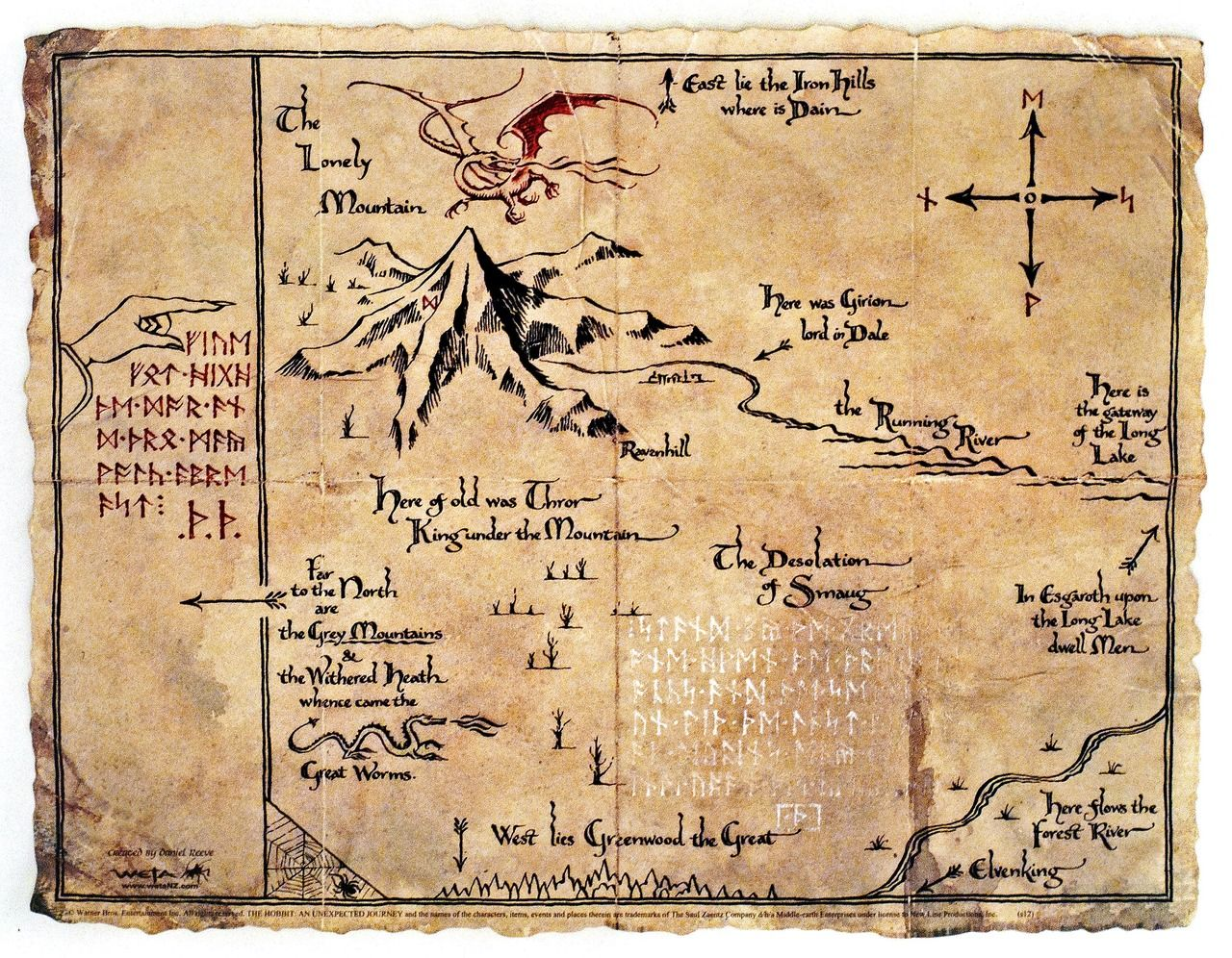 Lonely Mountain Map