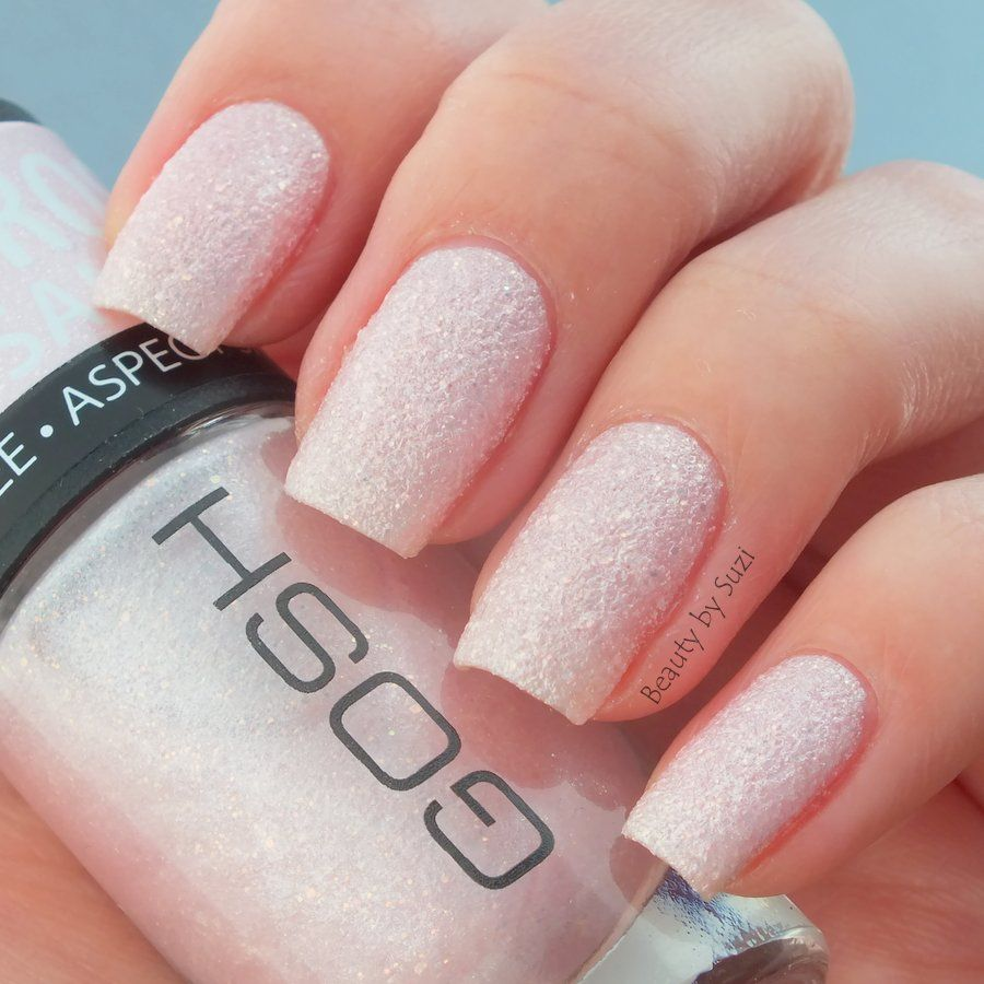 GOSH Frosted Nail Lacquer, 06 Frosted Soft Pink | Finger Nails ...