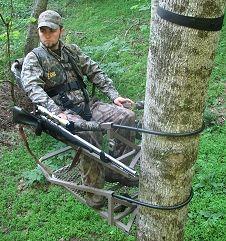 Treewalker Treestands Are Super Lightweight Aluminum