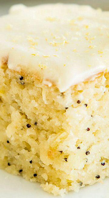 Lemon Poppyseed Buttermilk Cake Lemon Recipes Buttermilk Recipes Dessert Recipes