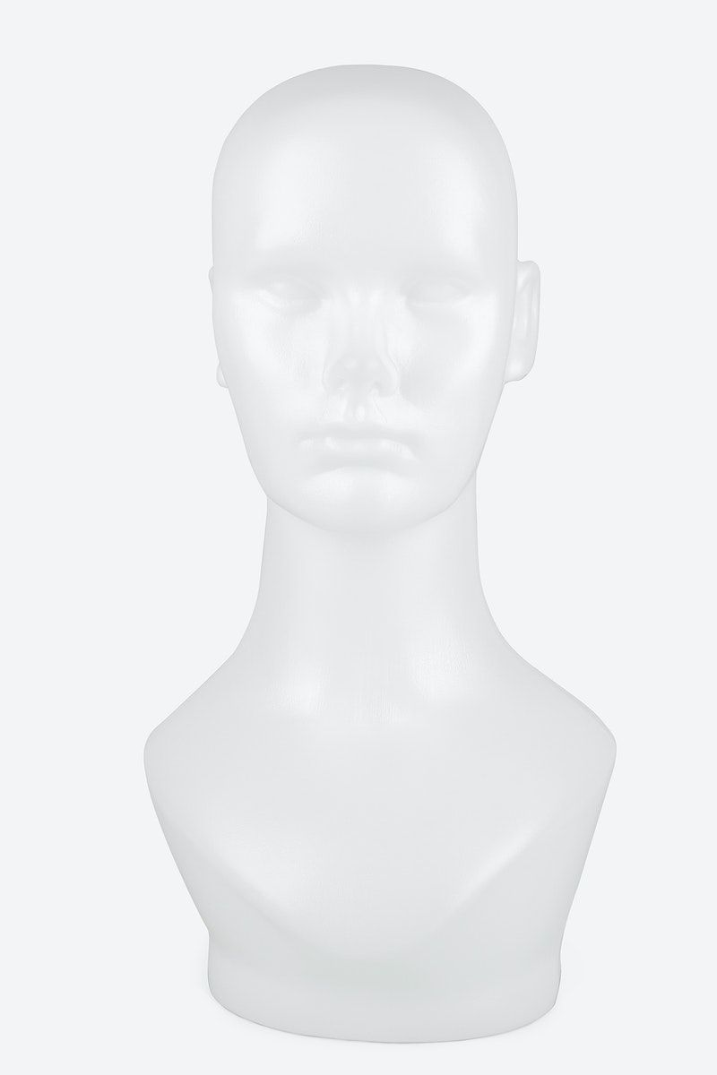 Download Premium Illustration Of White Mannequin Head Mockup 2444967 Mockup Design Element Mockup Design