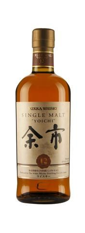 Yoichi 12 Single Malt Japanese Whisky (700ml, 45%)