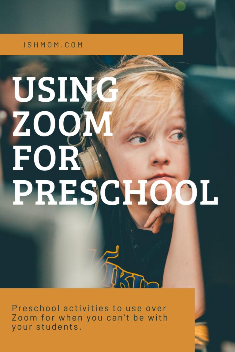 Using Zoom for Preschool Activities & Ideas Ish Mom in