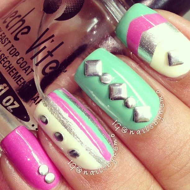 Instagram photo by nailsbynemo | Nails design | Pinterest ...