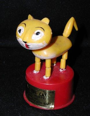 Candy The Cat pushbutton puppet. Made by Kohner, in Hong ...