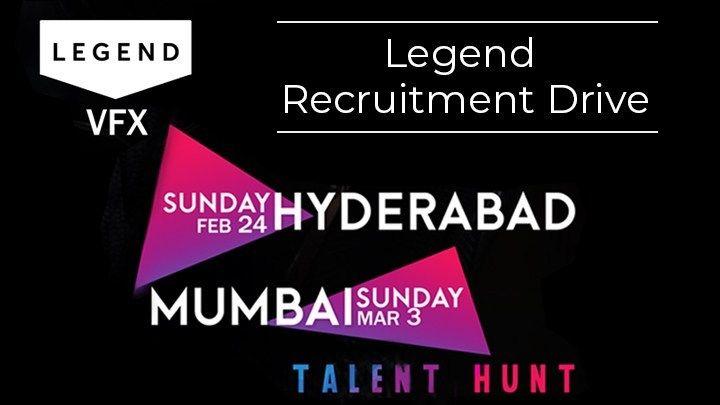 Latest vfx jobs at legend pune india hiring at hyderabad