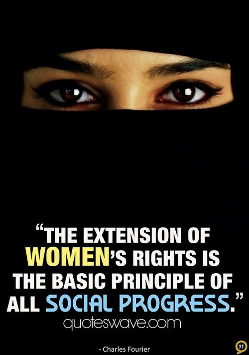 Women's Rights Quotes Beauteous 50 Best Islamic Quotes On Women Rights With Images  Islamic Quotes . Design Decoration