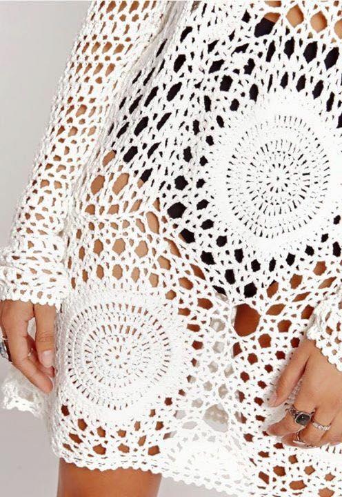 crochet | Crochet Tops | Pinterest | Salidas, Mantas de puntos y ...