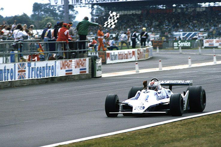 Clay Regazzoni scores Williams' maiden win at Silverstone; the team wins five of the last seven races