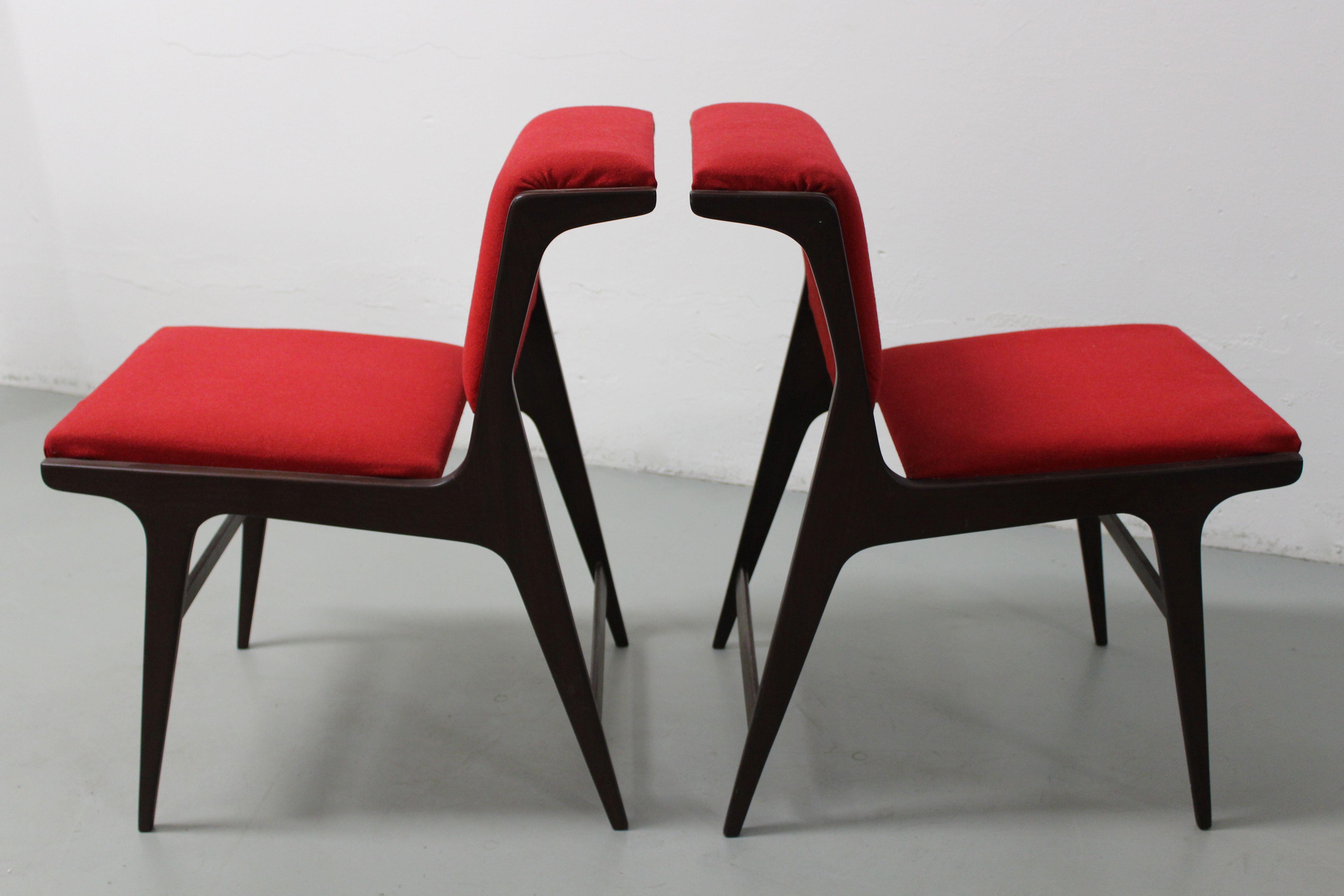 Sedie Jacobsen ~ 4 sedie eugenia alberti reggio produzione isa anni 60
