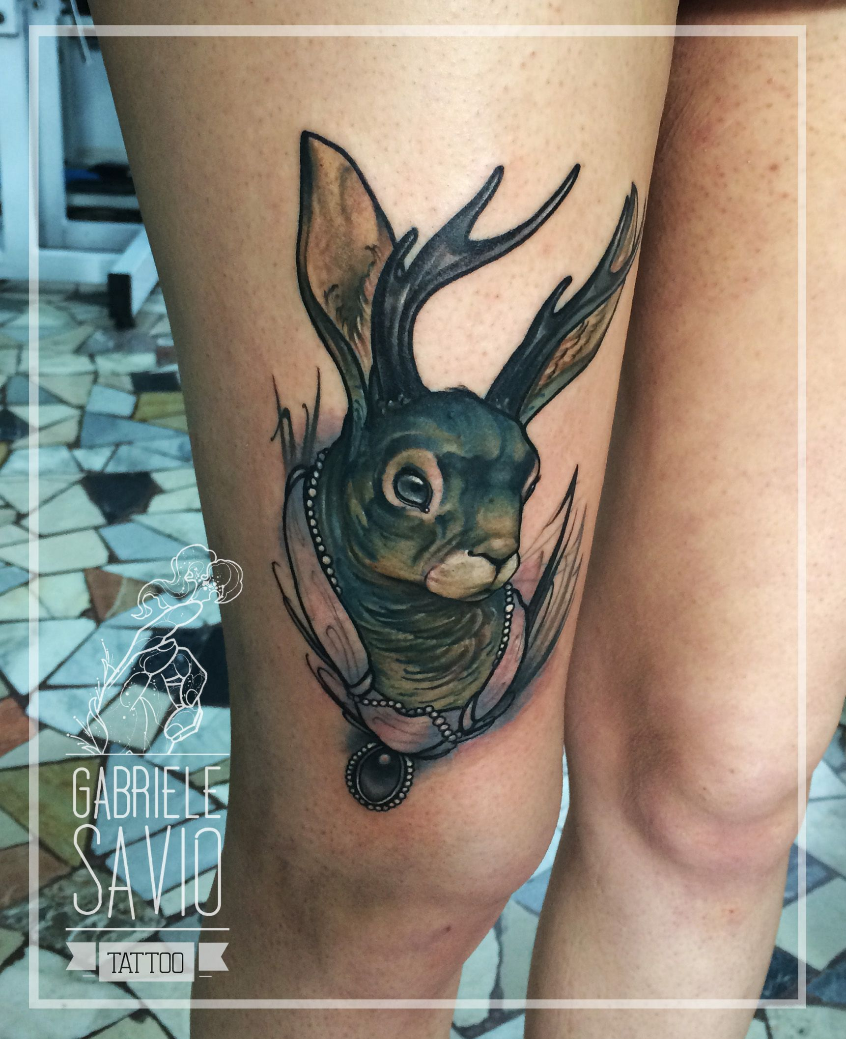 jackalope tattoos and body mod pinterest tattoo piercings and