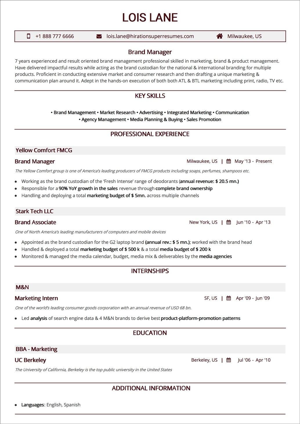 The Best Ideas for Resume Styles 2019 Business analyst