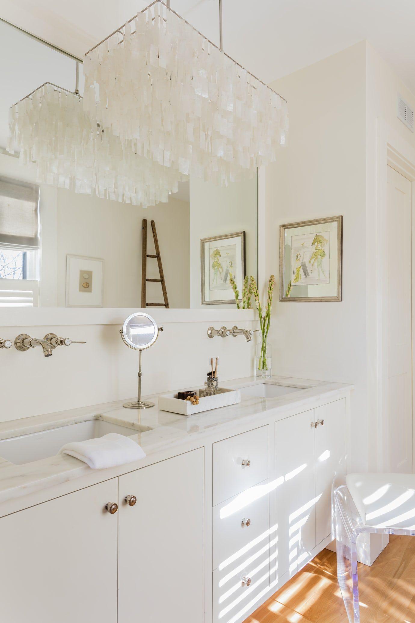 Historic Master Bath Renovation, Marble With Custom Cabinetry Bath Closet