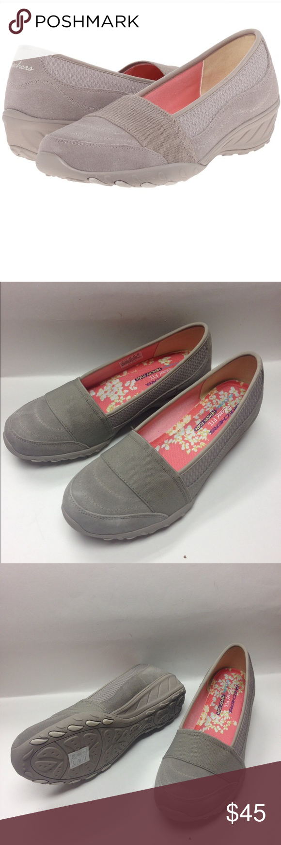 Skechers Savvy- Taupe sneakers