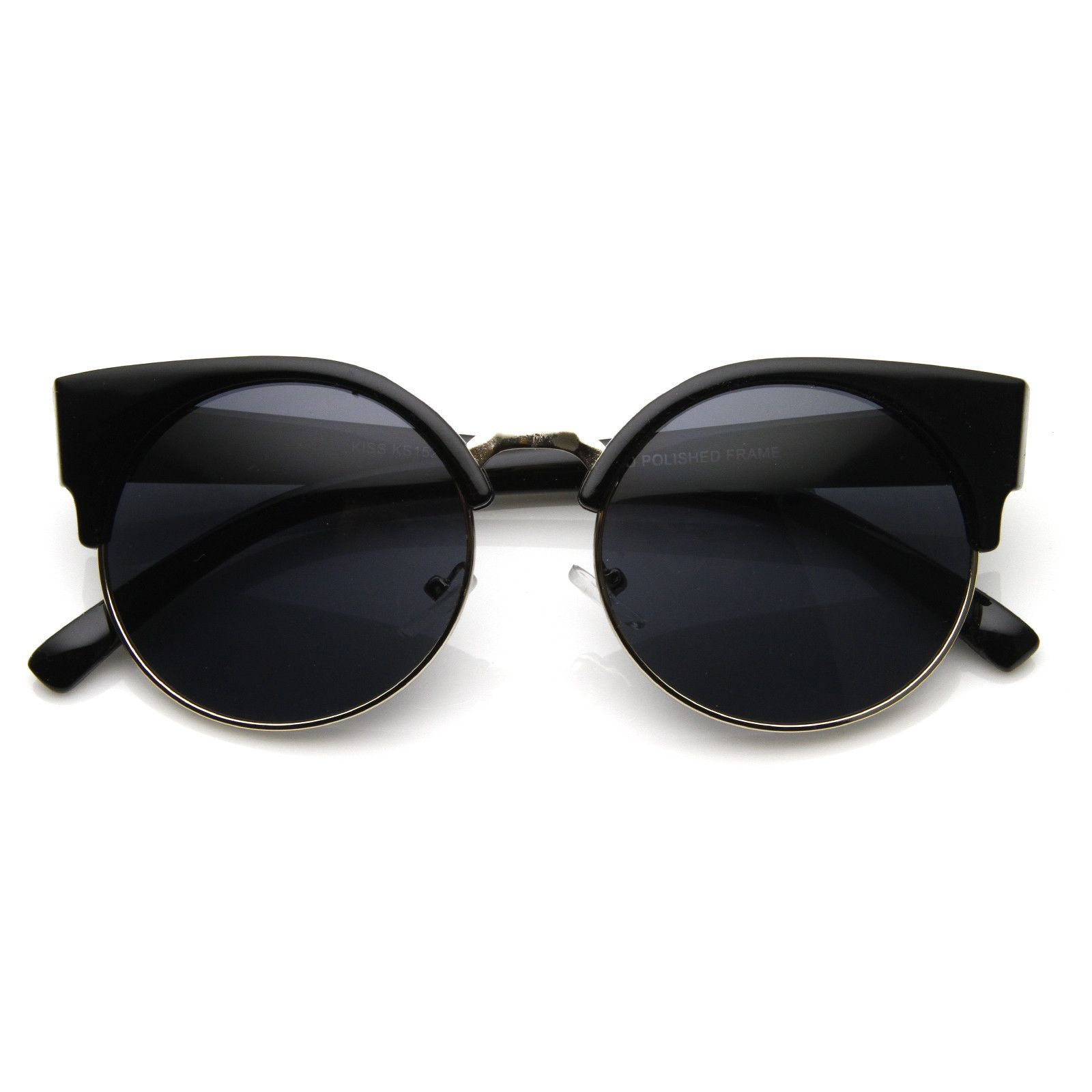 i dont know if i would look good in these but theyre cute vintage inspired round circle cat eye sunglasses 8785 from zerouv cheap ray ban