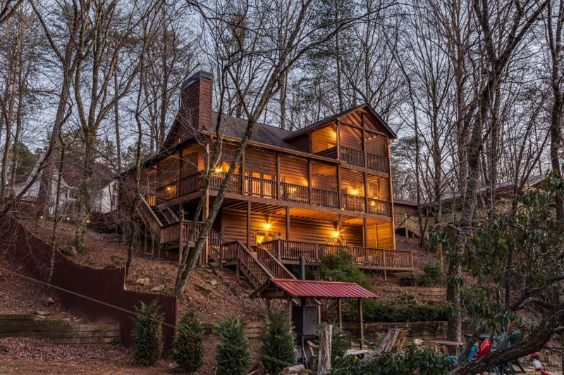 Search All Area North Georgia Rental Cabins Blue Sky Cabin