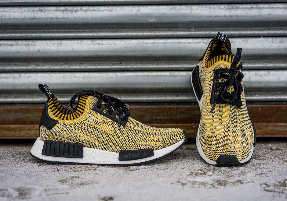 official photos 4cccc e3d64 Latest adidas NMD Runner PK Yellow Camo Black 2018 Online